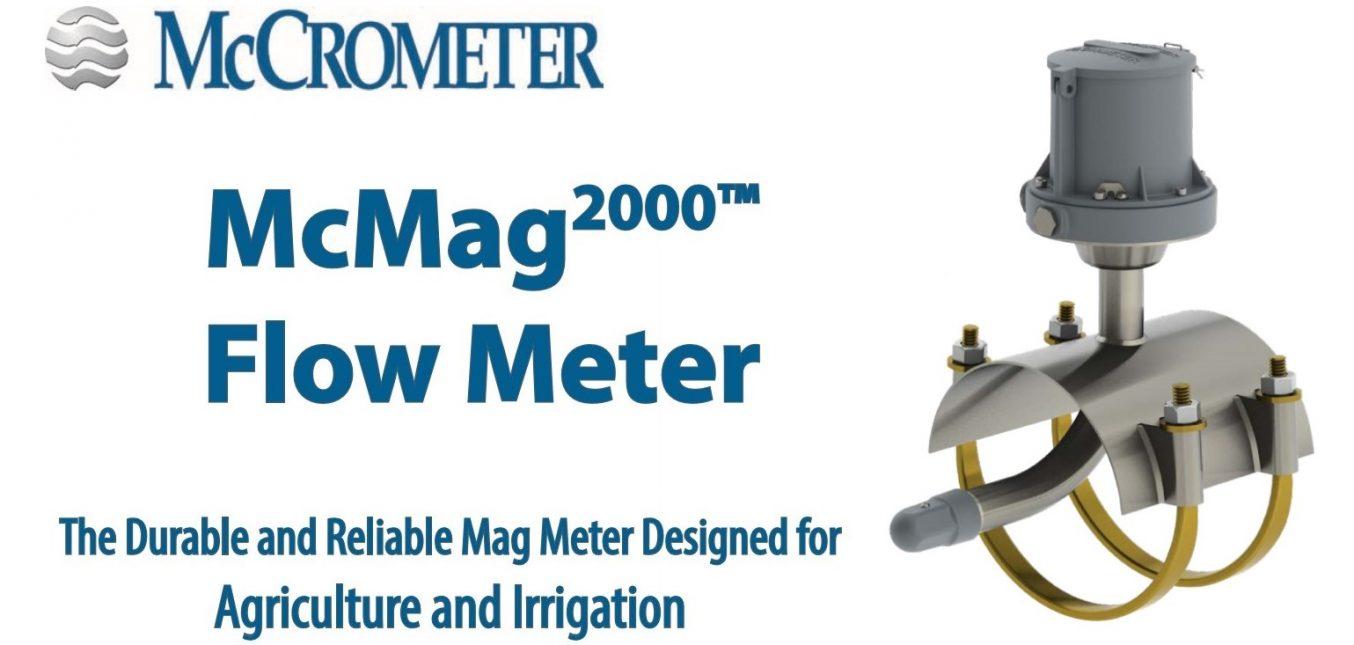McMag 2000, el mejor medidor magnético para la medición de flujo de riego